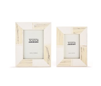 Blanc D'voir Photo Frame