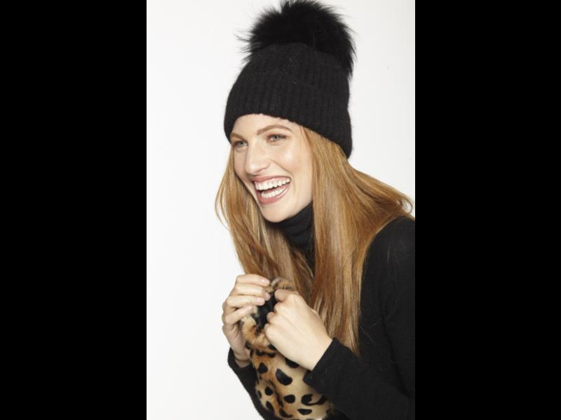Linda Richards Wool Pom Pom Hat