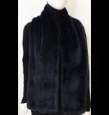 Linda Richards Long Rex Rabbit Fur Scarf