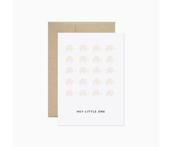 Hey Little One Elephants