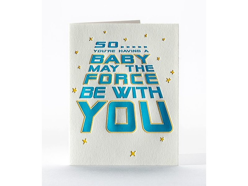 Elum Designs Force Be With You Card