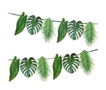 Tropical Palm Garland