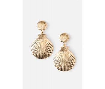 Double Shell Earring