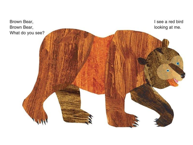 Macmillan Publishing Brown Bear Brown Bear What Do You See?