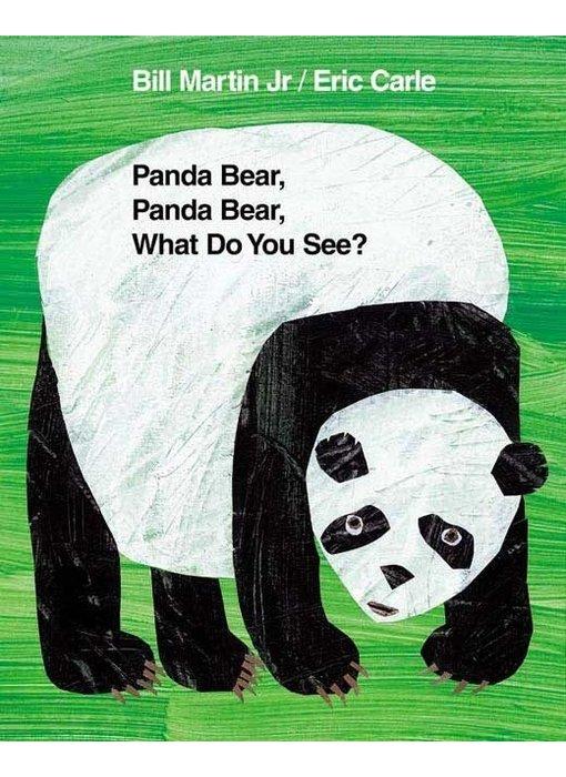 Panda Bear, Panda Bear What Do You See?