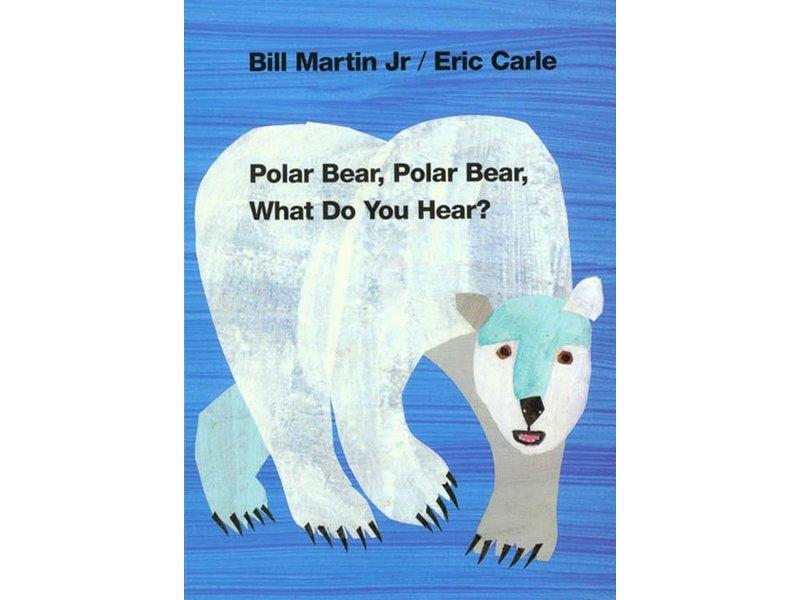 Macmillan Publishing Polar Bear Polar Bear What Do You Hear?