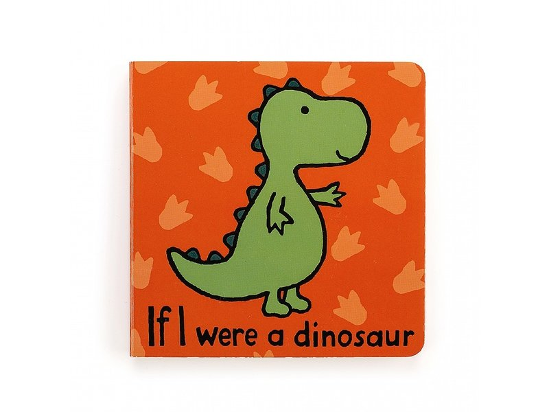 JellyCat Inc If I Were A Dinosaur Book