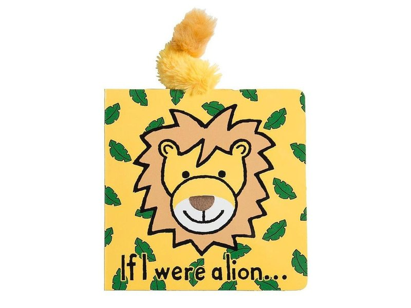 JellyCat Inc If I Were a Lion Book