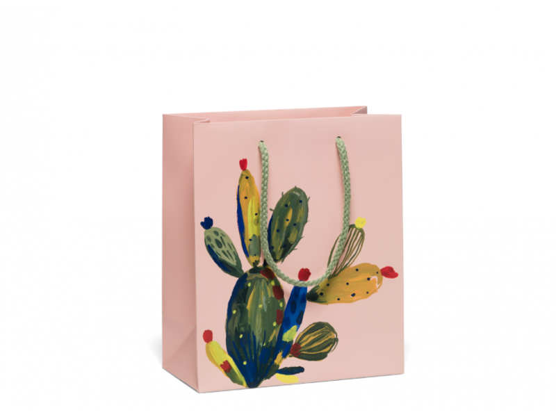 Red Cap Cards Cactus Rose Bag