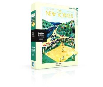 Baseball Ballpark Puzzle