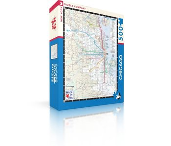 Chicago Transit Map Puzzle