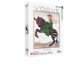 VOGUE Lady on a Zebra Puzzle
