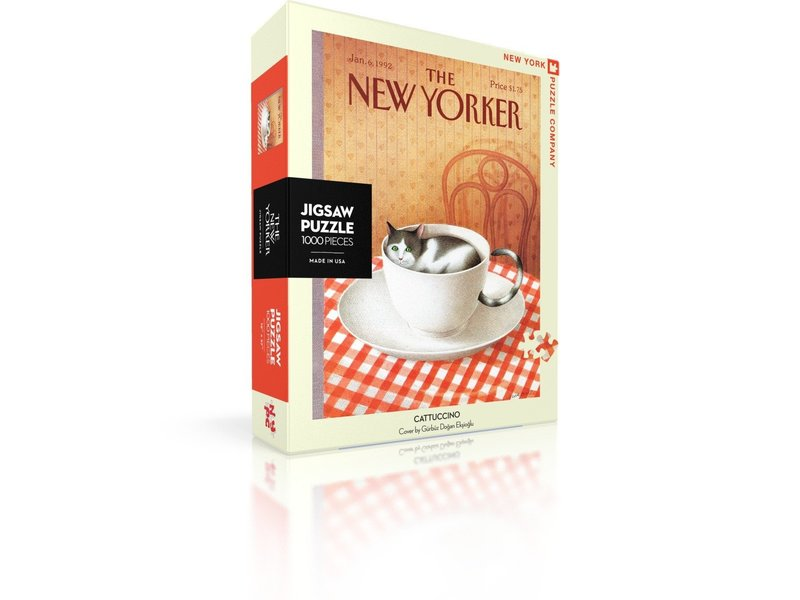 new york puzzle company Cattuccino Cat Puzzle