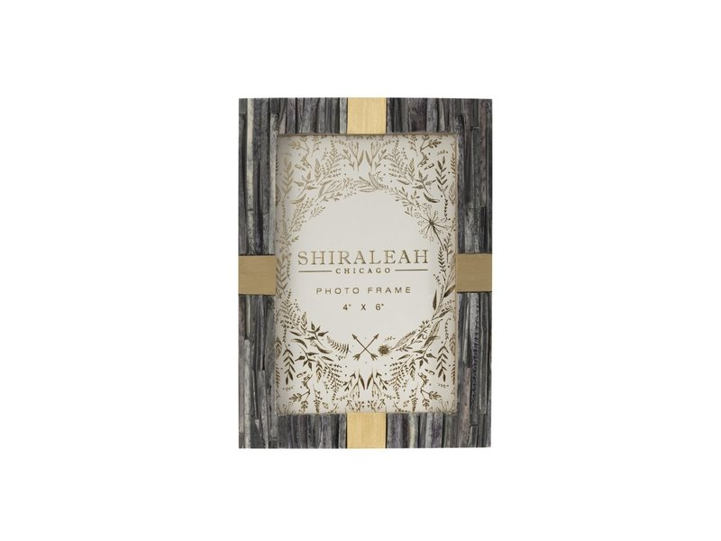 Shiraleah Mansour Faceted 4x6 Picture Frame