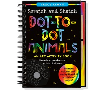 Scratch & Sketch Dot-To-Dot Animals