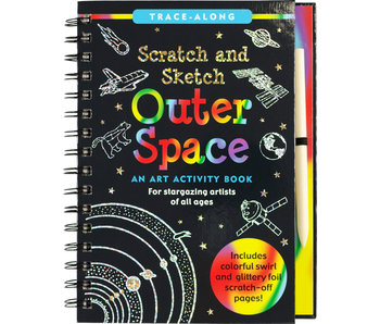 Scratch & Sketch Outer Space