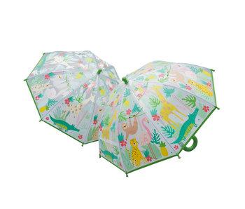 Color-Changing Jungle Umbrella