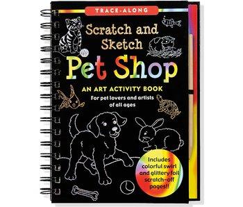 Scratch & Sketch Pet Shop
