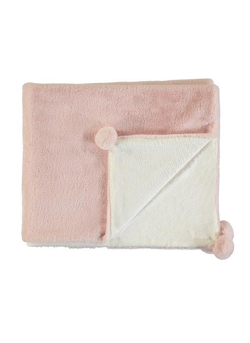 Blush Fuzzy Blanket