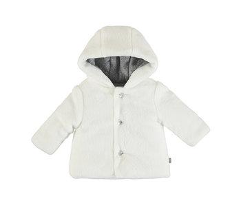 White Cuddly Jacket