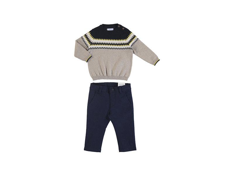 Mayoral Knit pant set