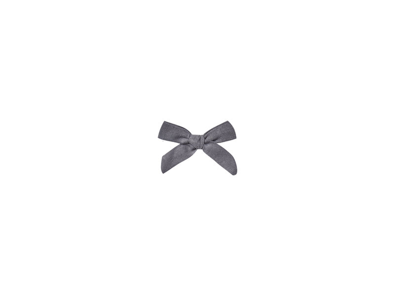 Rylee + Cru Washed Indigo Hair Bow