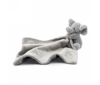Bashful Gray Elephant Soother