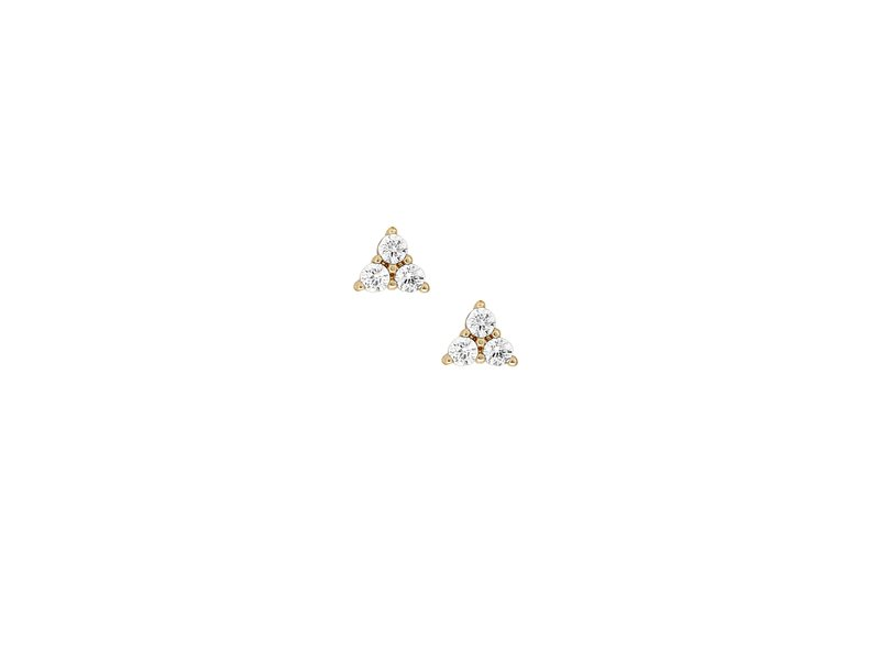 five and two Elsie Earrings Clear