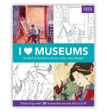 Chronicle Books I Heart Museums Activity Book