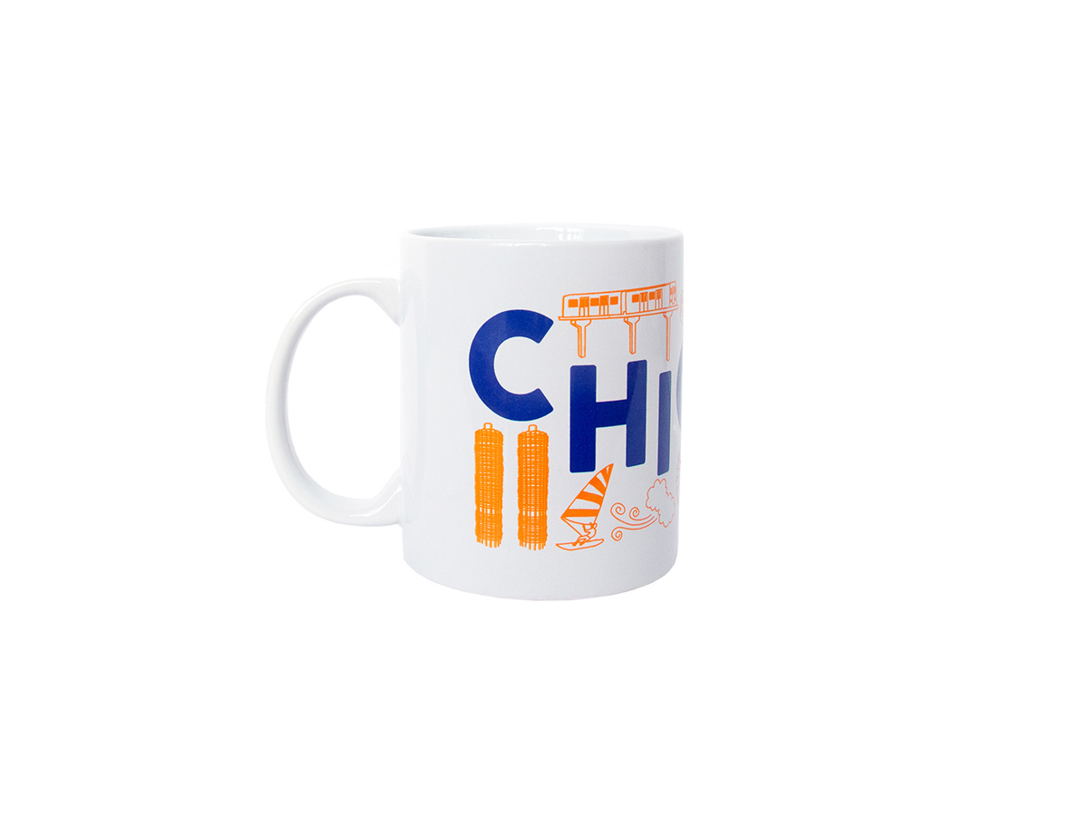 Chicago Mug Smitten Boutique