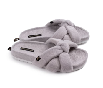 Grey Ariel Slipper