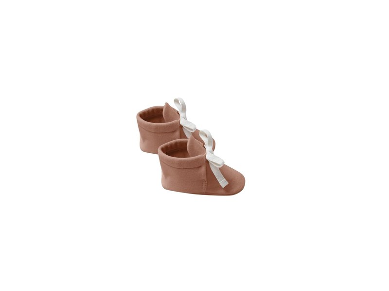 Quincy Mae Jersey Ribbed Booties