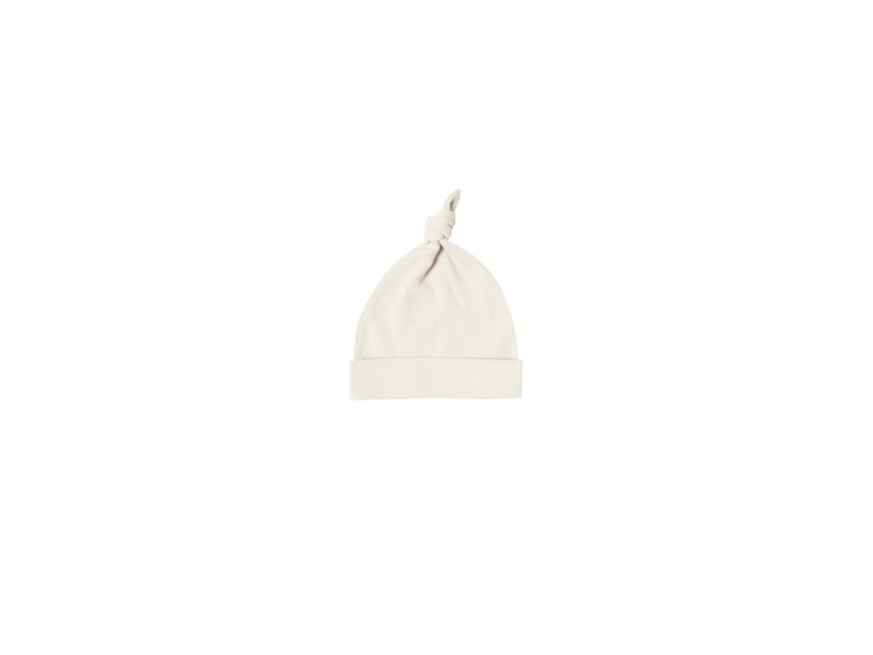 Quincy Mae Knotted Organic Jersey Baby Hat 0-6m