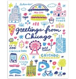 The Found Greetings From Chicago Card