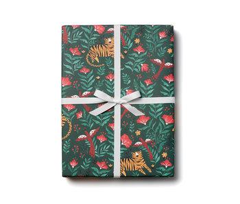 Laying Tiger Gift Wrap