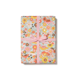 Red Cap Cards Groovy Blooms Gift Wrap