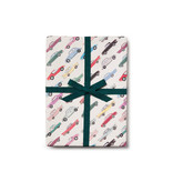 Red Cap Cards Cars Gift Gift Wrap