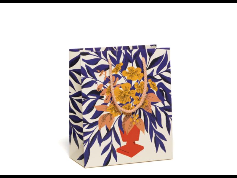 Red Cap Cards Abundant Bouquet Gift Bag