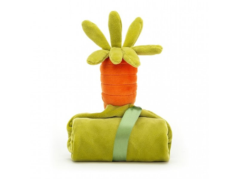 JellyCat Inc Vivacious Vegetables Carrot Soother