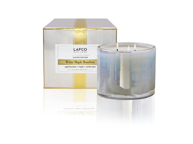 LAFCO White Maple Bourbon 3 Wick Candle