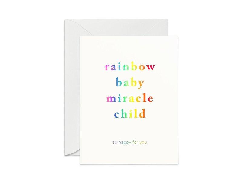 Smitten on Paper Rainbow Baby