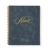 Smitten on Paper Velvet Notebook Denim