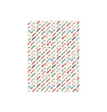 Red Cap Cards Cars Gift Wrap