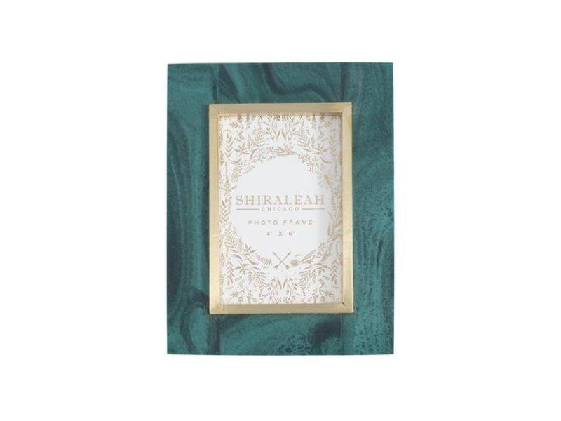 Shiraleah Granada 4x6 Green Frame