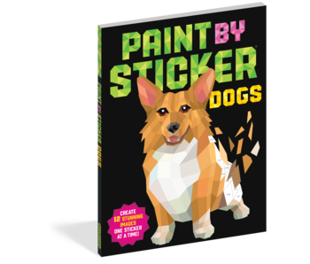Paint By Sticker Kids: Dogs