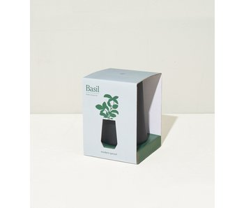 Basil Tapered Tumbler Grow Kit