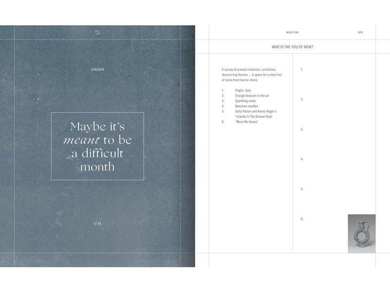 Random House Moon Lists : Questions and Rituals for Self-Reflection: A Guided Journal