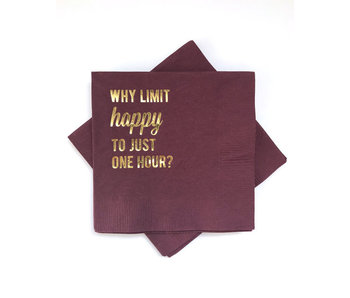 Why Limit Happy Napkins