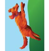 Workman Paint By Sticker Kids: Dogs