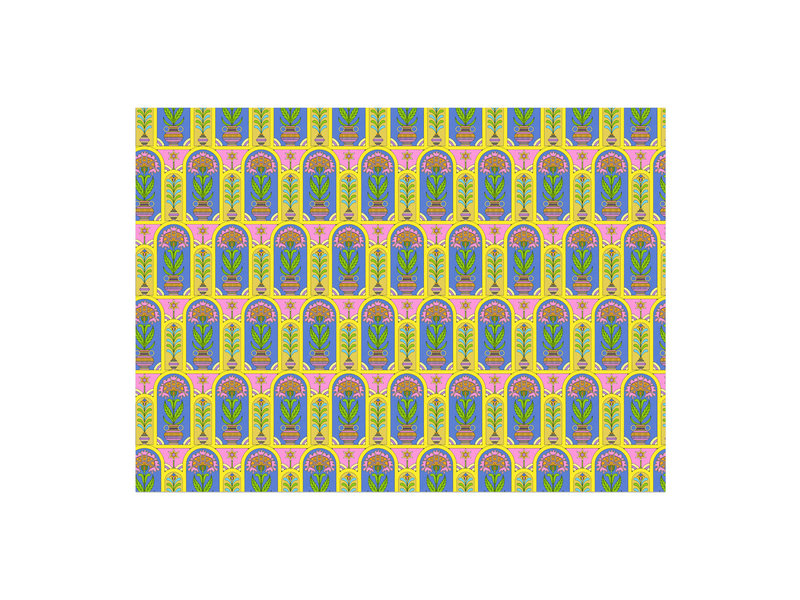 Red Cap Cards Happy Colors Gift Wrap
